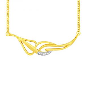 Hoop,Asmi,Tng Women's Clothing - Asmi Yellow Gold Diamond Tanmaniya JPL081SI-JK18Y