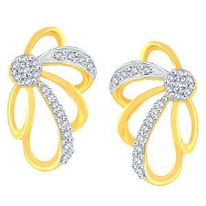 Asmi,Jpearls,Gili Women's Clothing - Gili Yellow Gold Diamond Earrings OE814SI-JK18Y