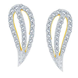 Rcpc,Ivy,Pick Pocket,Kalazone,Unimod,Sangini Women's Clothing - Sangini Yellow Gold Diamond Earrings PRA1E3623SI-JK18Y