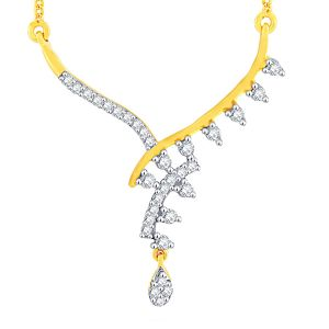 Asmi,Jagdamba,Sukkhi,Port,M tech Jewellery - Asmi Yellow Gold Diamond Tanmaniya FP356SI-JK18Y