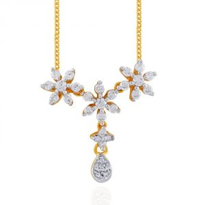 Nakshatra Yellow Gold Diamond Tanmaniya Npa516si-jk18y