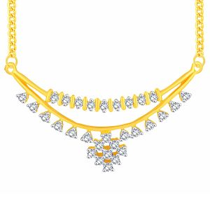Asmi,Sukkhi,Clovia,Ag Diamond Jewellery - Asmi Yellow Gold Diamond Tanmaniya UP079SI-JK18Y