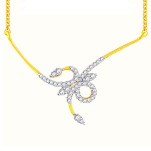 Hoop,Asmi,Kalazone,Tng,Soie,The Jewelbox Diamond Jewellery - Asmi Yellow Gold Diamond Tanmaniya YP309SI-JK18Y