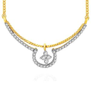 Platinum,Ivy,Unimod,Clovia,Gili,Surat Tex Diamond Jewellery - Gili Yellow Gold Diamond Tanmaniya YPM306SI-JK18Y