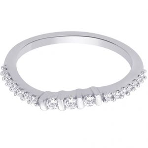 asmi,platinum,ivy,unimod,hoop Silvery Jewellery - Hoop Silver With Cz Diamond Silver Ring For Womens Rf5010