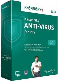 Kaspersky Anti-virus 2014 1 PC at Rs 749 - Apply Rediff Coupon