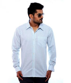 Buy Moksh Striped Casual Cotton Shirt For Mens - (code - V2ims0414-230) online