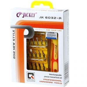 Buy Jackly 32 In 1 Magnetic Screw Driver Toolkit online