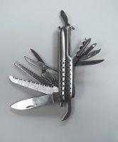 Buy Millenium Stainless Steel 14 In 1 Multi Function Pocket Swiss Style Knife online