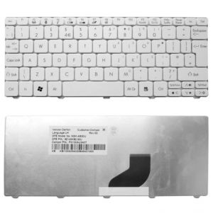 Buy Replacement Acer Aspire One D255-n55dq D255-n55dqcc Laptop Keyboard White online
