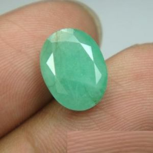 Buy Lab Certified 4.86cts Natural Untreated Emerald/panna online