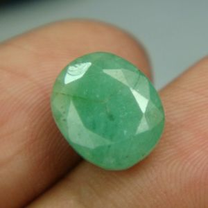 Buy Lab Certified 5.37cts Natural Untreated Emerald/panna online