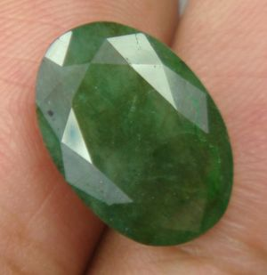 Buy Lab Certified 7.25cts Natural Emerald/panna(budh) online