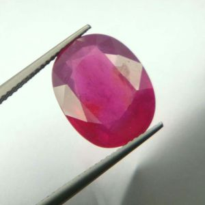 Buy Top Grade 11.05ct Lab Certified Natural Ruby/manek online