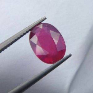 Buy Premium 3.49ct Lab Certified Natural Ruby/manek online