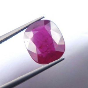 Buy Premium 7.83ct Lab Certified Natural Ruby/manek online