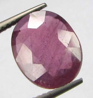 Buy Premium Lab Certified 5.95cts Natural Transparent Mozambique Ruby/manek online