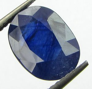 Buy Lab Certified 5.00cts Natural Blue Sapphire/neelam(for Shani/saturn) online