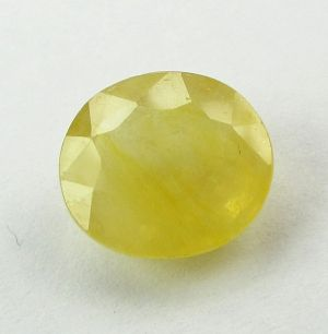 Buy Lab Certified 5.39Cts Natural Yellow Sapphire/Pukhraj online