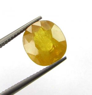 Buy Top Grade 6.55cts Natural Top Yellow Sapphire/pukh online