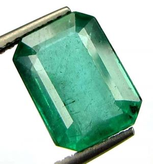 Buy Certified Top Aaaa Grade 3.74cts Transparent Natural Zambian Emerald/panna online