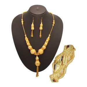 Buy Vendee Fashion Party Wear Combo Jewellery (1459) online