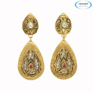 Buy Vendee Wedding Wear Fashion Earrings online