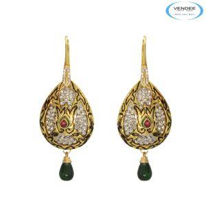 Buy Vendee Lovely Diamond Fashion Earrings online