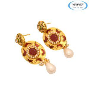 Buy Vendee Precious Stone Earrings online