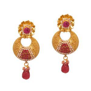 Buy Vendee Copper Fashion Earrings online