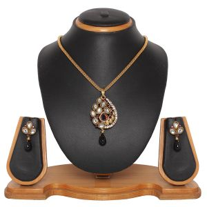Buy Vendee Fashion Ethnic Pendant Set (8365) online
