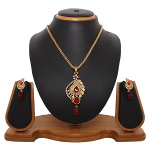Buy Vendee Fashion Latest Collection Pendant Set online