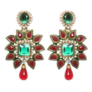 Buy Vendee Fashion Tribal Princess Drop Earrings (8396) online