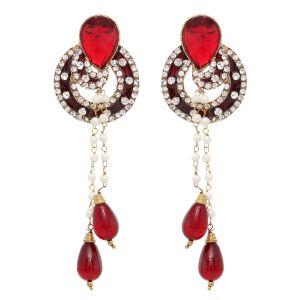 Buy Vendee Fashion Sound Effect Earrings (8407) online