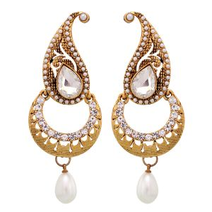Buy Vendee Fashion Chand Earrings online
