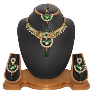 Buy Vendee Fashion Latest Indian Jewellery Necklace Set (8479) online