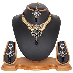 Buy Vendee Fashion Imitation Costume Necklace Set online