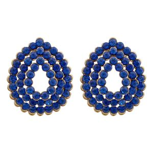 Buy Oval Studded Earrings 8579b online