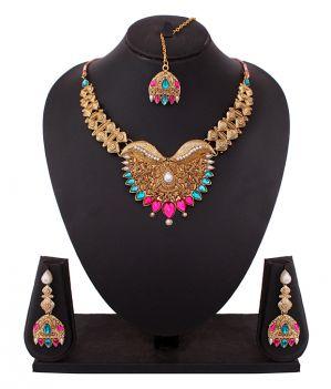 Buy South Temple Designed Necklace Set online