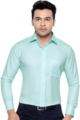 Buy CORPORATE CLUB PO 001 BEETEL MENS FORMAL OFFICE WEAR SHIRT GREEN# S online