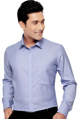 Buy Mens Formal Office Wear Shirt Navy Blue By Corporate Club Online