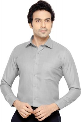 Buy Beetel Mens Formal Office Wear Shirt Grey By Corporate Club online
