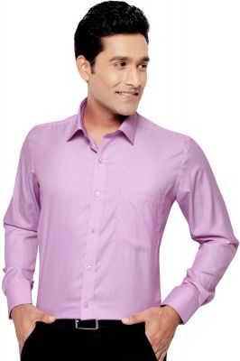 Buy Mens Formal Office Wear Shirt Pink By Corporate Club online