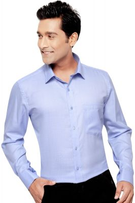 Buy Beetel Mens Formal Office Wear Shirt Blue By Corporate Club (code - Bettel 04) online