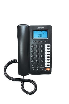 Buy Corded Landline Phone Two Way Speaker Black By Binatone online