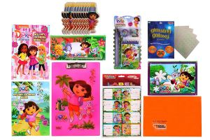 Buy Dora Combo 599 Multicolour (pack Of 1) By Sticker Bazaar online