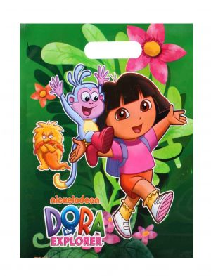 Buy Dora Small Party Bag Combo 10(pack Of 50 Pcs) By Sticker Bazaar online