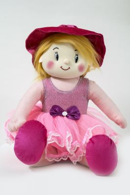 Buy Baby Doll Girl Gracy Pink Color by Lovely Toys online