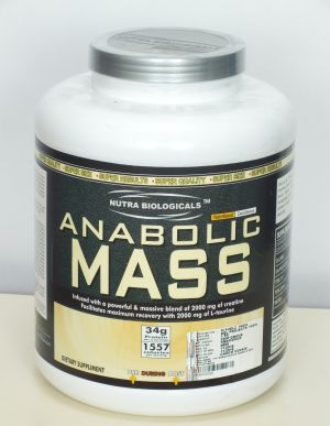 Buy NUTRA BIOLOGICALS ANABOLIC MASS-chocolate online