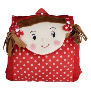 Buy New Rackshak Girl School Bag Red -By Lovely Toys online